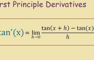How To Take The Derivative Of Tan(x)